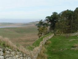 hadrian s wall in england