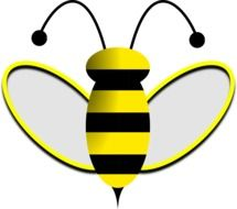 image of a bee in computer graphics