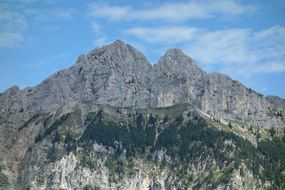 Panorama of a mountains