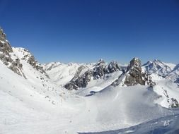 Arlberg - a mountain range or mountain range in the Eastern Alps