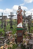 Lithuania siauliai amazing mountain of crosses