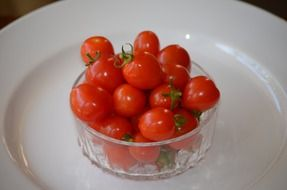 shiny tomato healthy snack
