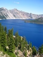 gorgeous crater lake, usa, Oregon