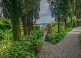 lake Garda in Sirmione Italy