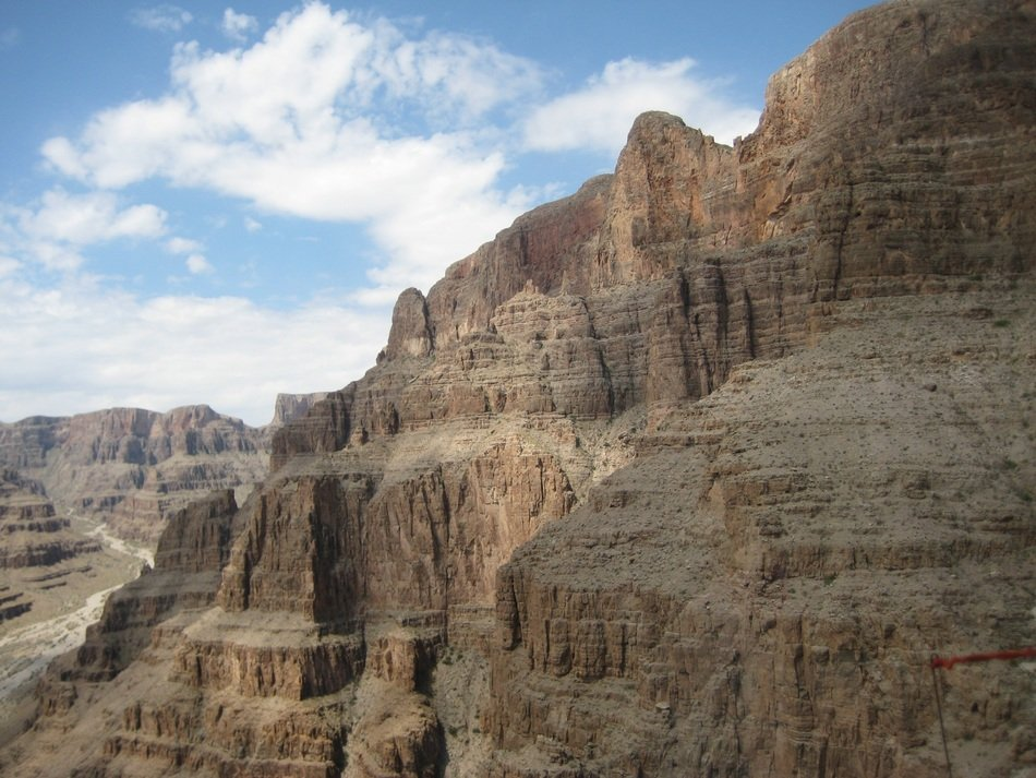 Scenic cliff in the Grand Canyon