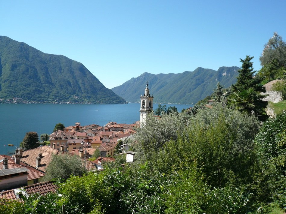view of Lake Como, Italy