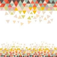 Abstract triangle background N27