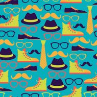 Hipster style seamless pattern N4