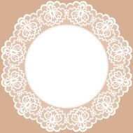 Lace Doily N6