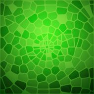 Green snake skin abstraction