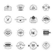 Vintage bakery badges labels and logos N11