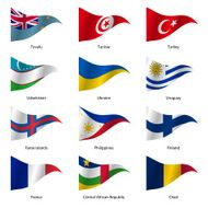 Set Flags of world sovereign states N2