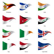 Set Flags of world sovereign states N3