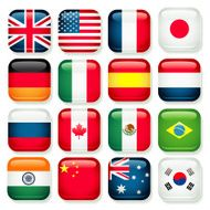 Popular Country app icons