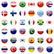 World Flags Icon Set
