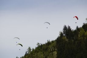 Parachute Championships in Bavaria