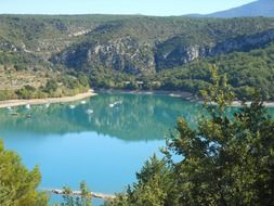 Verdon Gorge in the southeast of France