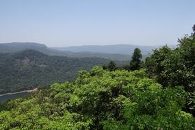 Western Ghats is a mountain range that runs parallel to the western coast of the Indian peninsula