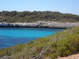 rocky coast in Mallorca