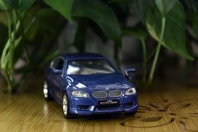 Bmv blue car model