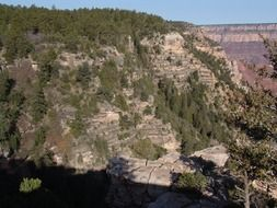 the broad valley of the Grand Canyon, Arizona