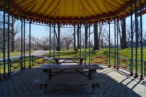gazebo in druid hill park