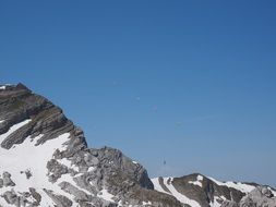 paraglider mountain