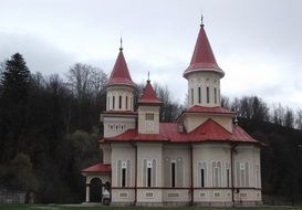 traditional orthodox church in the countryside