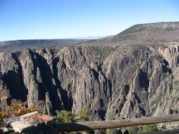 majestic black canyon in colorado