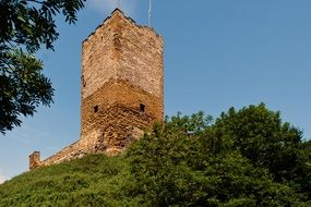 Thuringia Germany castle ruins