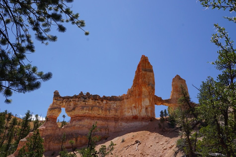 bryce canyon utah tower bridge sky view