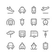 Transportation Icons N8