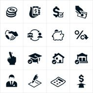 Lending and Loan Icons N2