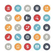 Business and finance icons N37