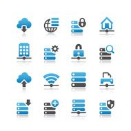 Network & Servers Icon Set