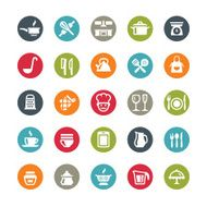 Kitchen Utensil icons Ringico series