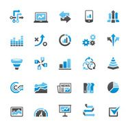 Infographic icons set