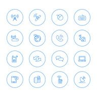 Communication and Media Icons N3