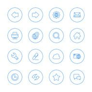 Website and internet icons N12