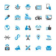 Press and Media related vector icons N2