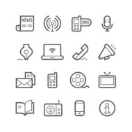 Communication Icons N66