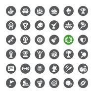 Sports Achievement vector icons