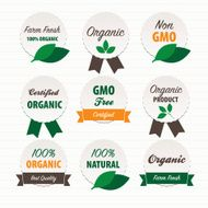 Organic Food Labels N5