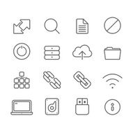 Internet and Media Servers - Simple Icons N2