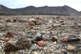 unusually beautiful rocks ground landscape