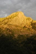 high pyrenees mountain landscape