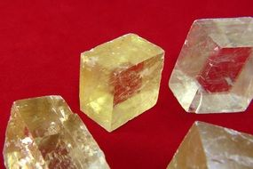 transparent quartz stones