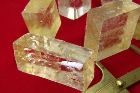 natural calcite stones