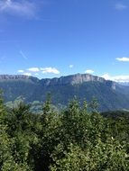 panoramic view of the mountains of france near lake annecy