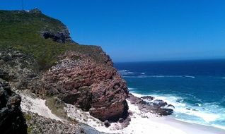 picturesque coast of South Africa